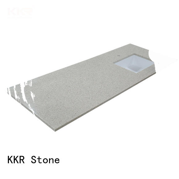 KKR Stone artificial solid surface bathroom countertops popular