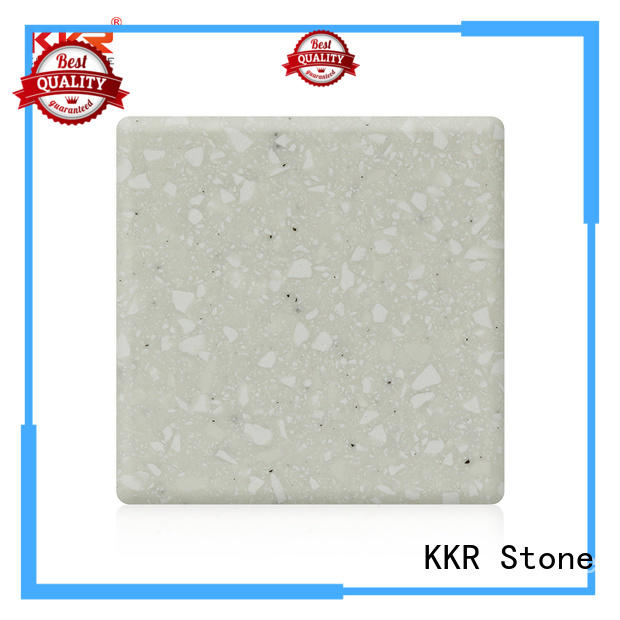 buy solid surface sheets sles for garden table KKR Stone