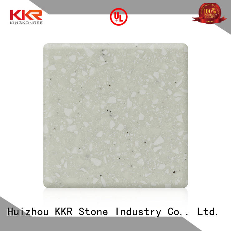 KKR Stone marble solid surface factory superior stain for kitchen tops