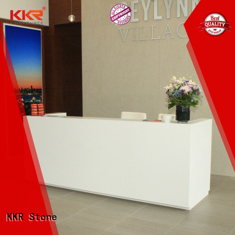 lassic style curved reception desk supplier for bar table
