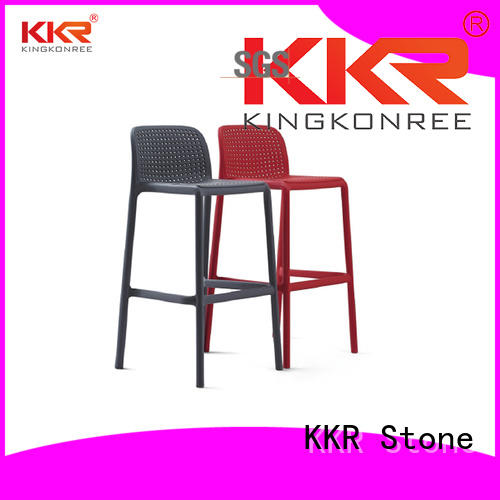 KKR Stone colorful modern plastic chairs cost