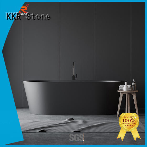 KKR Stone unique free standing bath directly sale for building