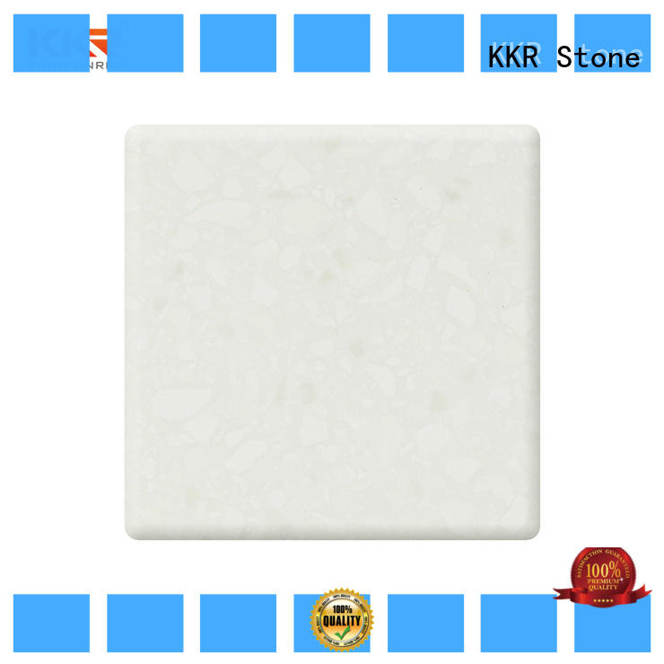 KKR Stone yellow solid surface sheet certifications for school building