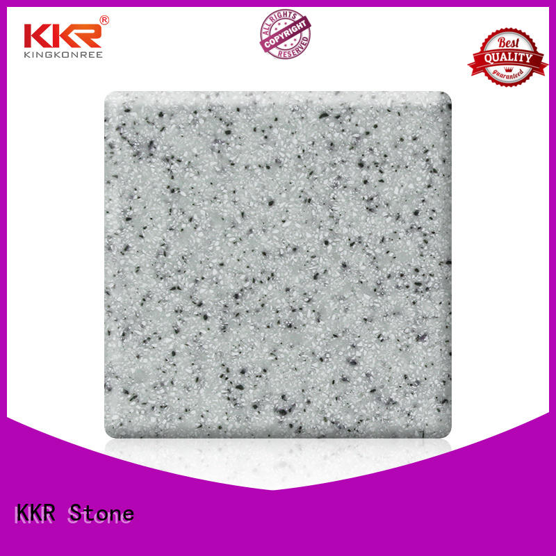 KKR Stone sheet modified solid surface superior chemical resistance for self-taught
