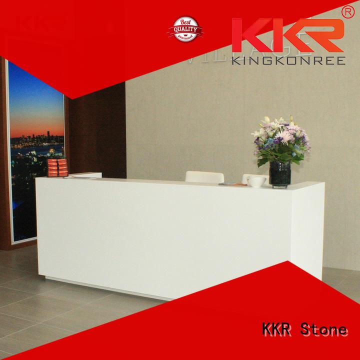 curved reception desk for worktops