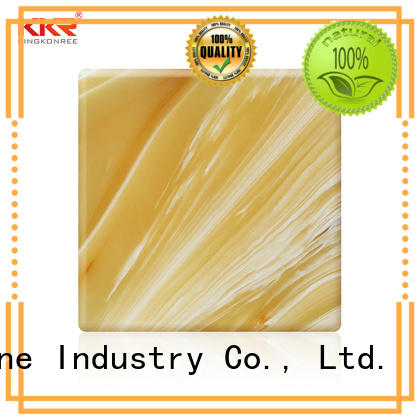 KKR Stone non-toxic faux alabaster sheet factory price for home