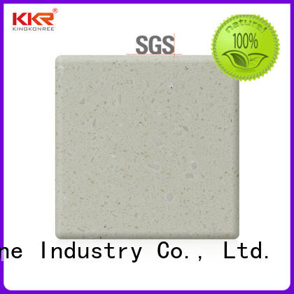 KKR Stone easily repairable solid surface order now for school building