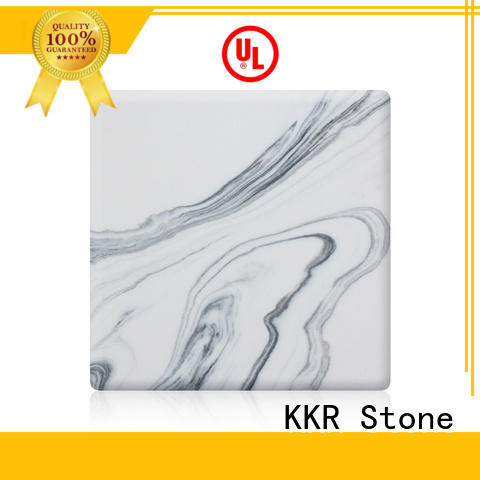 KKR Stone inch solid surface panels effectively for entertainment