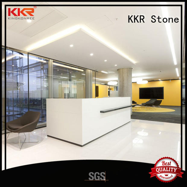 KKR Stone custom-made acrylic solid surface worktops widely-use for home