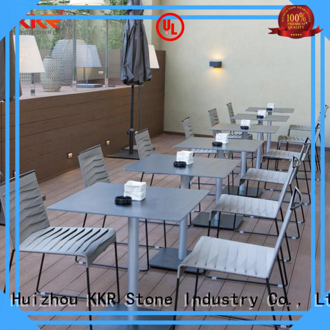 KKR Stone acrylic solid surface table tops