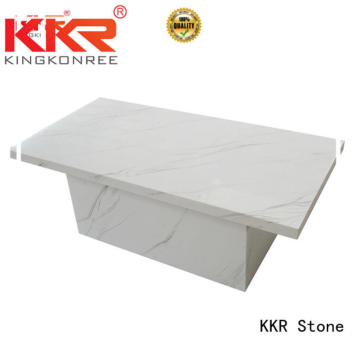 KKR Stone marble dining table round countertops