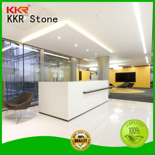 KKR Stone bar acrylic counter top widely-use for worktops