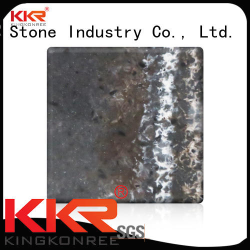 KKR Stone modified veining pattern solid surface for home