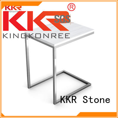 artificial stone dining table restaurant