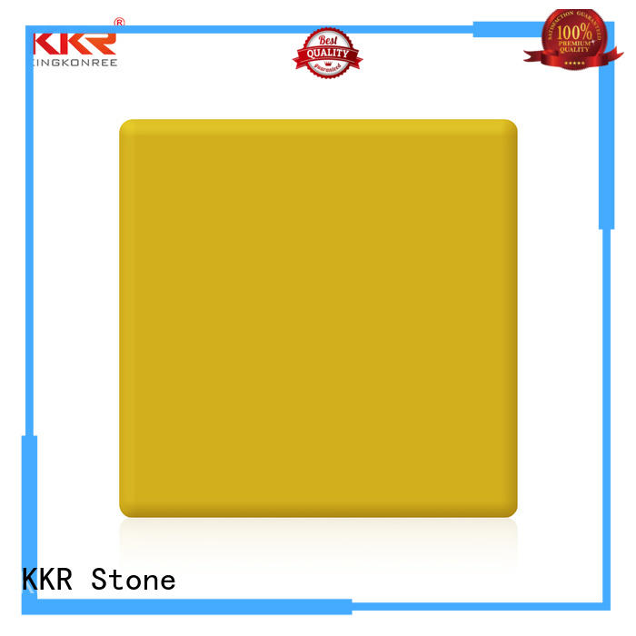 KKR Stone colorful modified solid surface superior bacteria for table tops