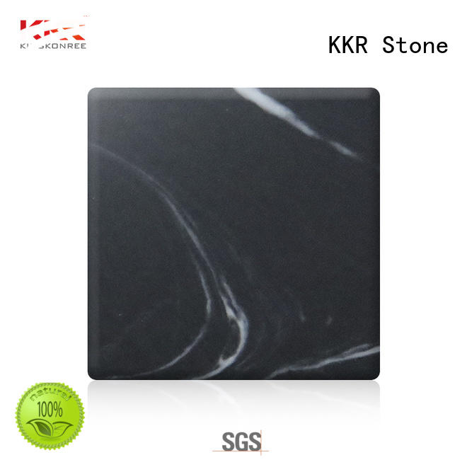 texture pattern solid surface white for building KKR Stone
