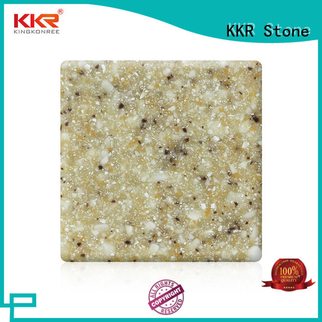 hot-sale modified acrylic solid surface superior chemical resistance for worktops