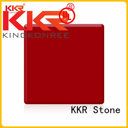 KKR Stone easy to clean modified acrylic solid surface superior stain furniture set