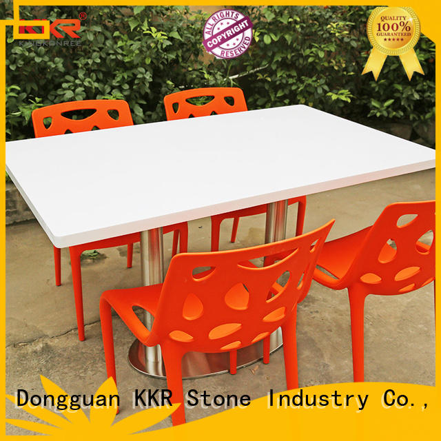 KKR Stone marble round dining table