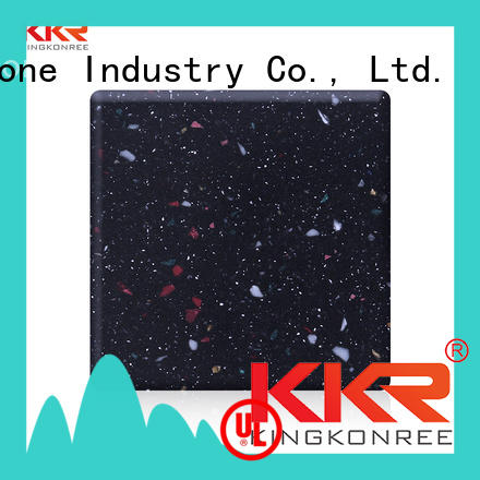 KKR Stone kkrm1645 modified solid surface superior stain for table tops