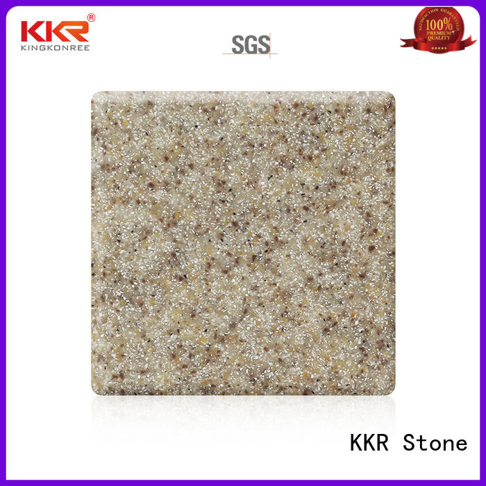 KKR Stone sand modified solid surface superior stain for self-taught
