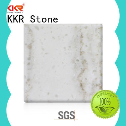 KKR Stone radiation free polystone solid surface for school building