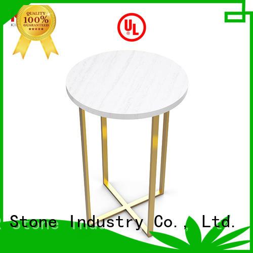 KKR Stone restaurant marble dining table round