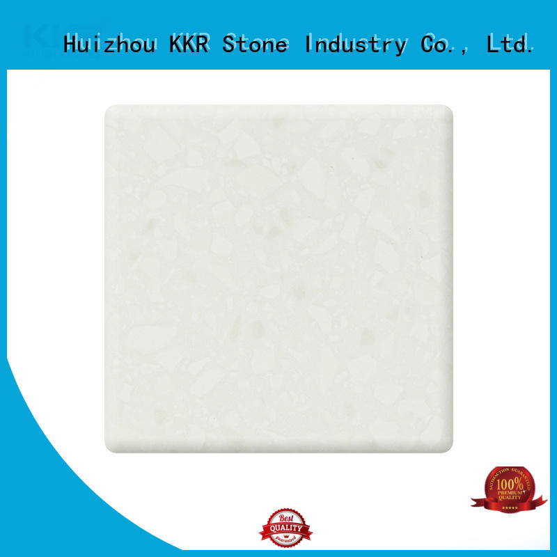 KKR Stone colorful solid surface factory superior chemical resistance for table tops