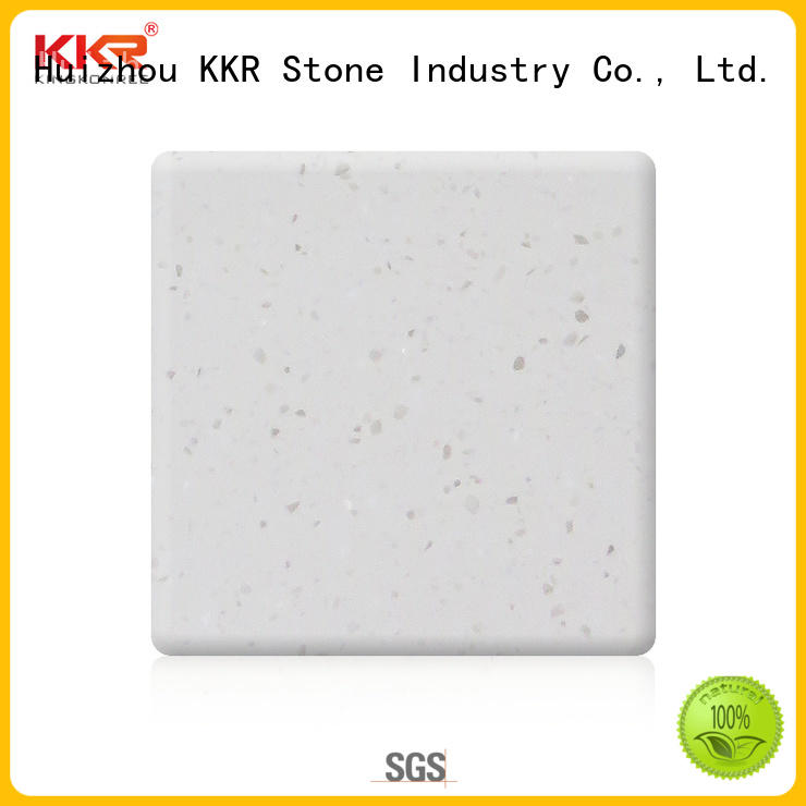 KKR Stone new-arrival solid surface factory superior stain for kitchen tops