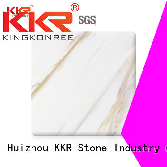 KKR Stone high strength solid surface slab for building