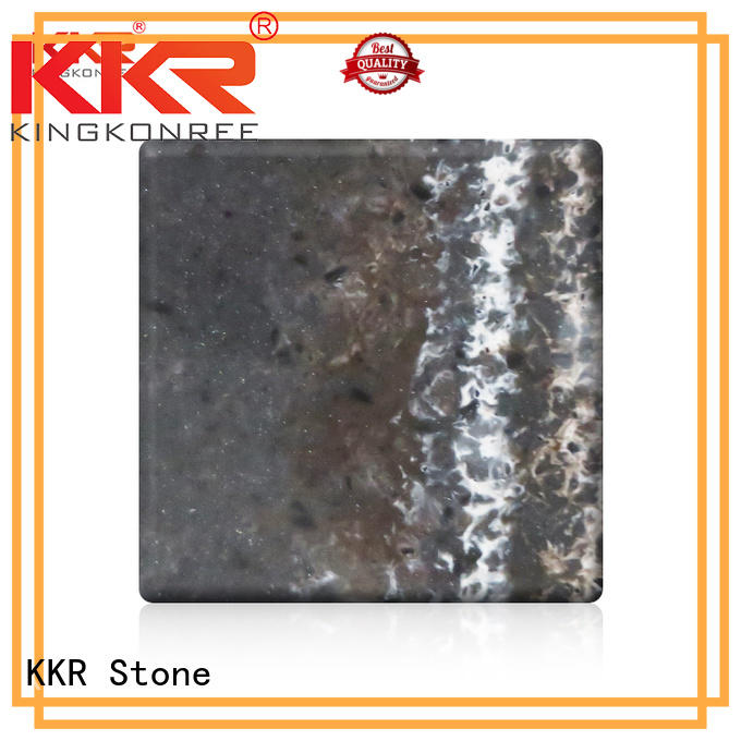 solid surface acrylic sheets for school building KKR Stone
