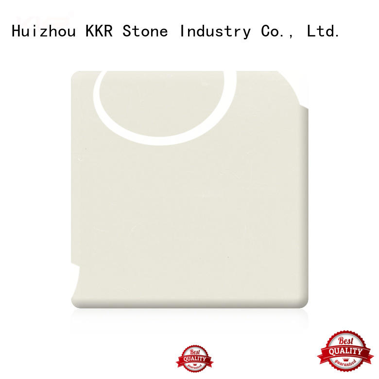 KKR Stone sheet modified solid surface superior chemical resistance for table tops