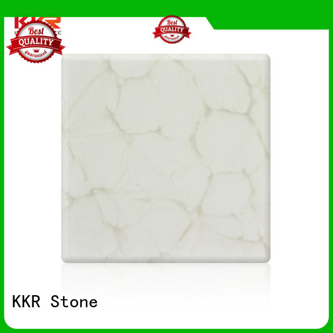 modified translucent resin panel solid for bar table KKR Stone