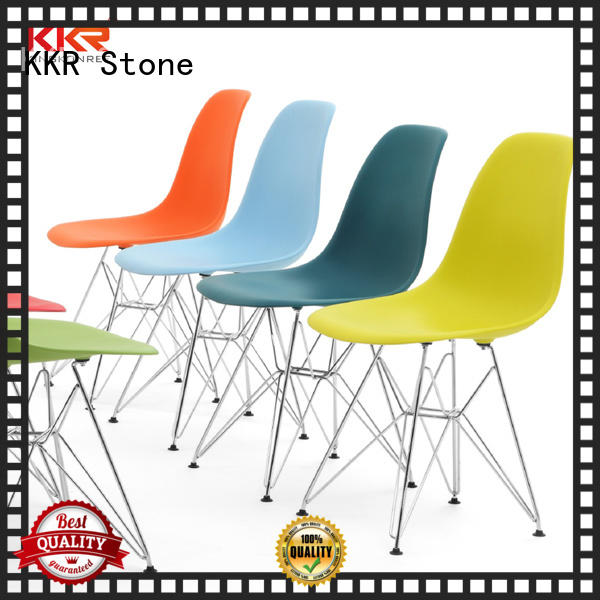 KKR Stone easily repairable plastic dining chairs price