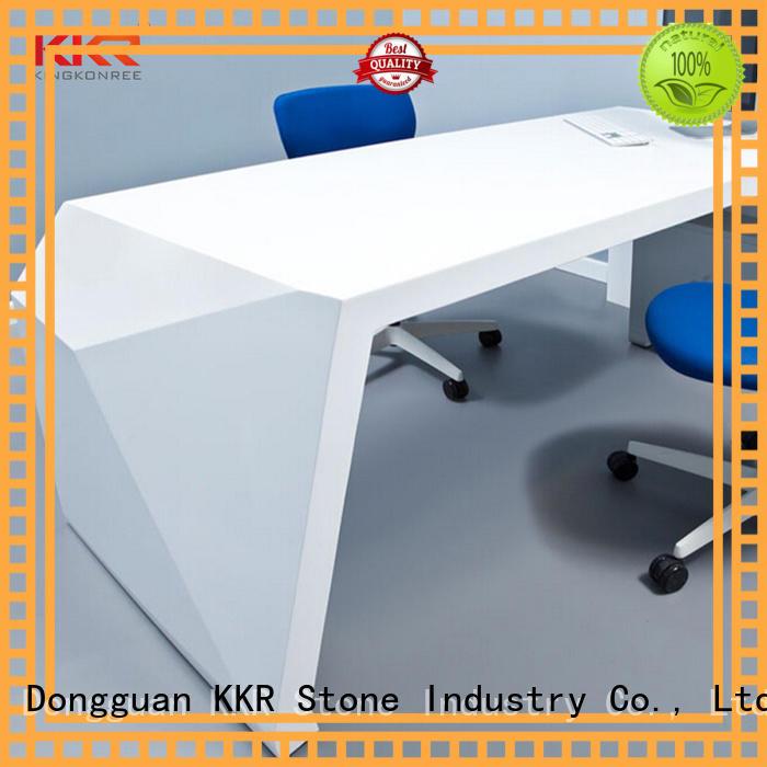 fashion reception desk design desk for entertainment KKR Stone