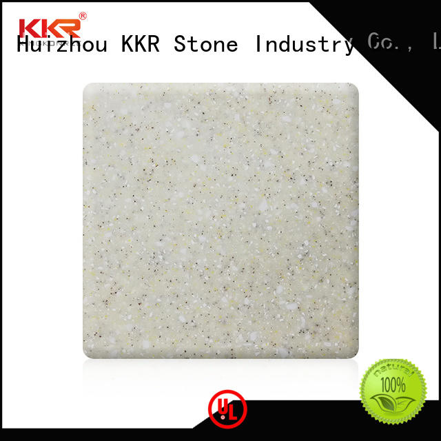 KKR Stone yellow building material factory price for kitchen tops