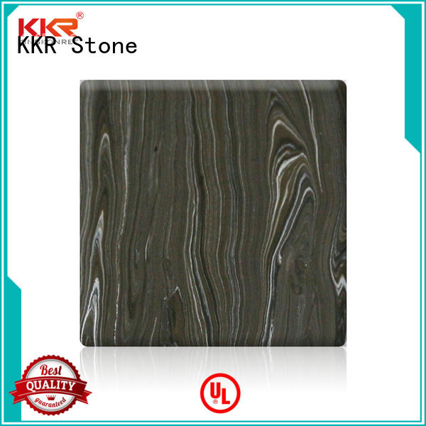 length corian solid surface sheet width for bar table KKR Stone