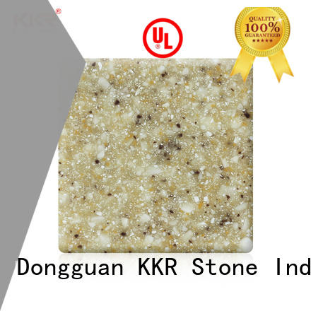 KKR Stone Warm touch modified acrylic solid surface small for worktops