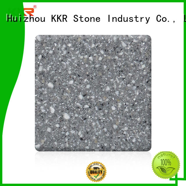 KKR Stone solid acrylic solid surface sheet for building