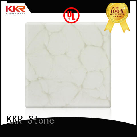 closuds translucent stone panel for garden table KKR Stone