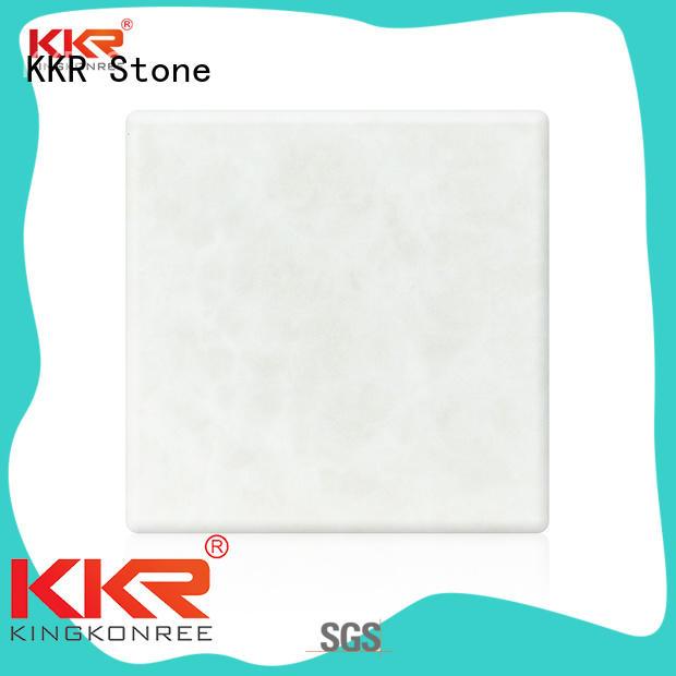 KKR Stone artificial translucent stone panel free design furniture set