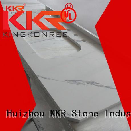 KKR Stone artificial vanity top bathroom for entertainment
