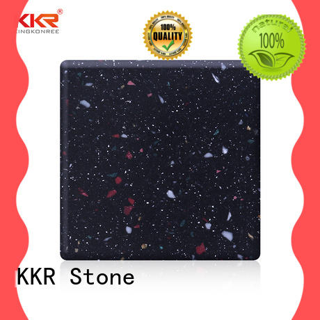 KKR Stone easily repairable modified solid surface superior bacteria for kitchen tops
