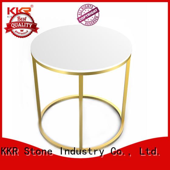 coffee shop table acrylic KKR Stone