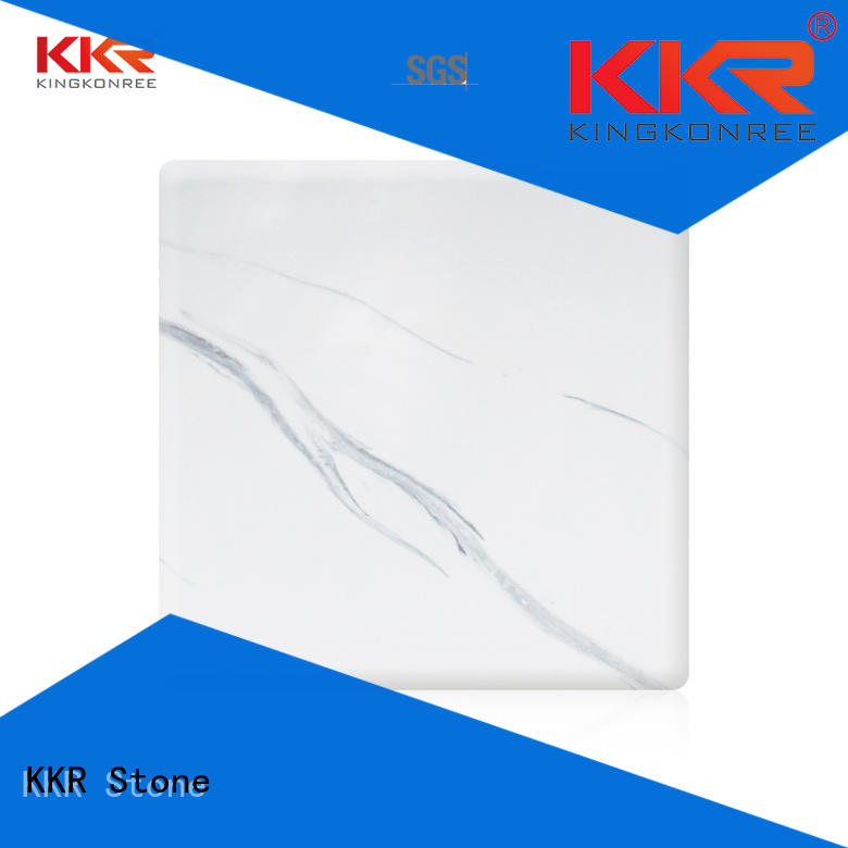 KKR Stone high-quality texture pattern solid surface arycli for early education