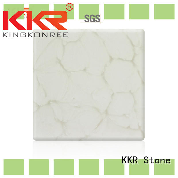 stone translucent resin panel from China for bar table KKR Stone