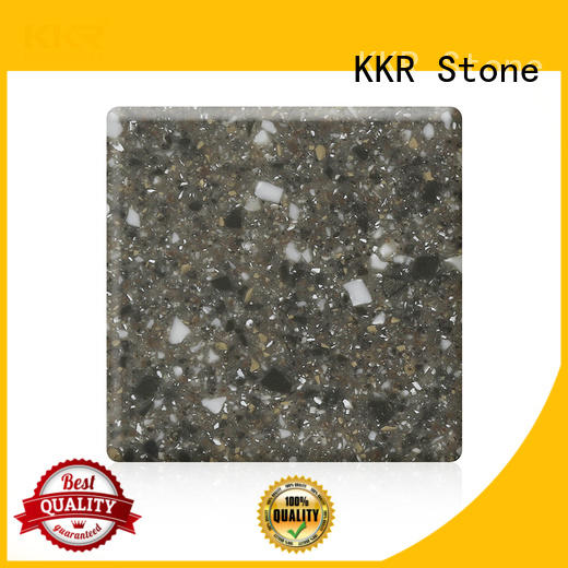 KKR Stone thickness modified solid surface superior chemical resistance for self-taught