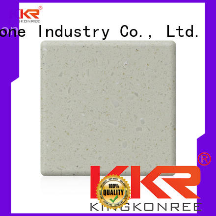 KKR Stone newly modified acrylic solid surface superior chemical resistance for building