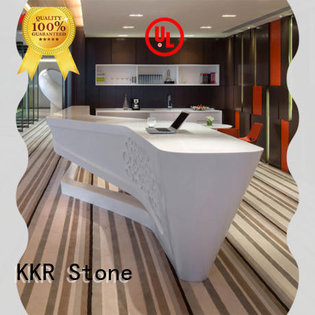 modified acrylic office counter free design for home KKR Stone