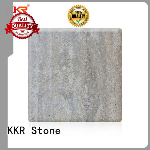 KKR Stone pollution free marble solid surface  manufacturer for school building
